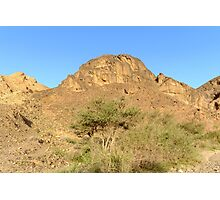 Israel, Negev, The Ramon Crater,  Photographic Print