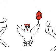 Cock blocker by spiritdoodles