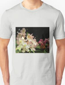 Blooming Pink Flowers & Blooms (Rhododendron) Unisex T-Shirt