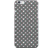 Kingdom Hearts Pattern in 3D iPhone Case/Skin
