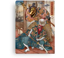 MYSTERY SCIENCE KABUKI Canvas Print