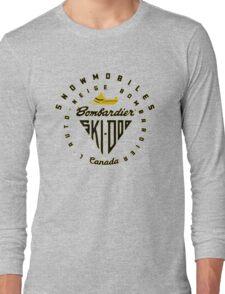 Ski doo vintage Snowmobiles Long Sleeve T-Shirt