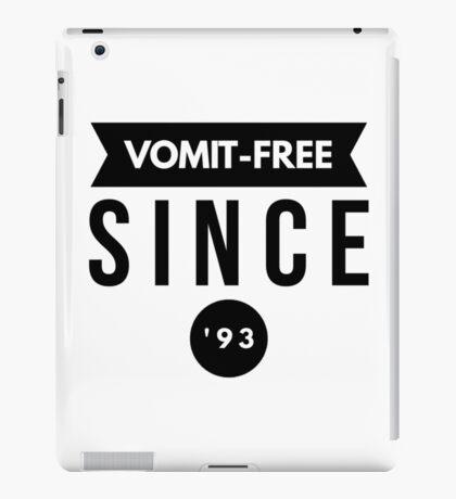 Vomit - free Since '93 iPad Case/Skin