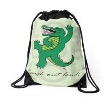 Drawstring Bag - Soft Green Drawstring Bag