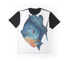 Piranha lurking, waterclour painting Graphic T-Shirt