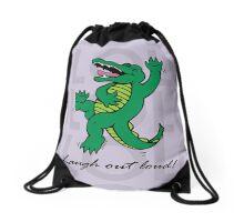 Drawstring Bag - Soft Purple Drawstring Bag