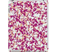 Crowded Flowers - Pink and Beige iPad Case/Skin