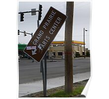 Farts Center Sign Poster