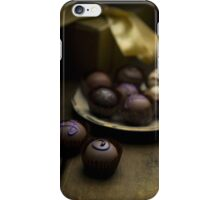 Chocolate pralines iPhone Case/Skin