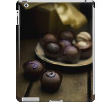 Chocolate pralines iPad Case/Skin