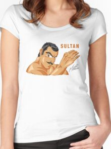 Sultan (2016 film) Women's Fitted Scoop T-Shirt