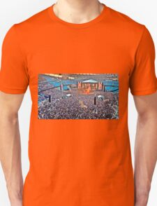 The Stone Roses at Manchester Etihad Stadium Unisex T-Shirt
