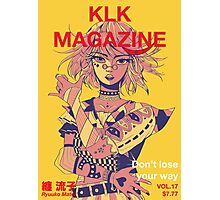 KLK Magazine Photographic Print