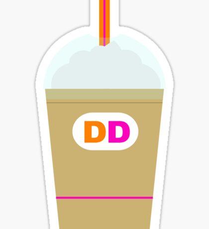 Dunkin Cup Sticker
