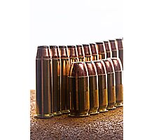 Ammunition Photographic Print
