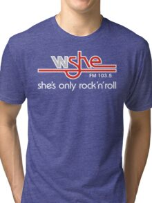 She's Only Rock 'n Roll (WH) Tri-blend T-Shirt