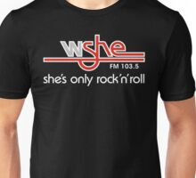 She's Only Rock 'n Roll (WH) Unisex T-Shirt
