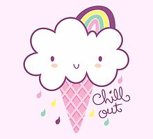 Chill Out Cloud Ice-cream by prettycritters