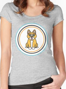 Complementary Corgi Women's Fitted Scoop T-Shirt