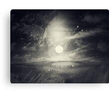 Solar Crest Canvas Print