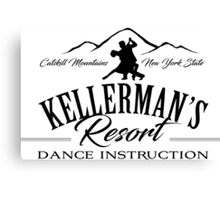 Kellerman's Resort Dance Instruction Canvas Print