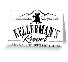 Kellerman's Resort Dance Instruction Greeting Card