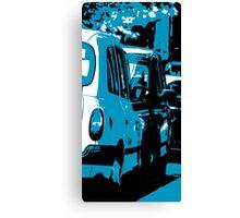 Hail Me a Cab Canvas Print