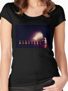 they go two by four by six by eight Women's Fitted Scoop T-Shirt