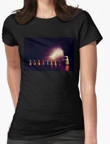 they go two by four by six by eight Womens Fitted T-Shirt