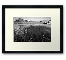 Cawfielfds Quarry and Crag Framed Print