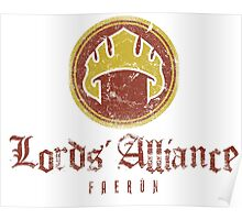 The Lords Alliance Poster