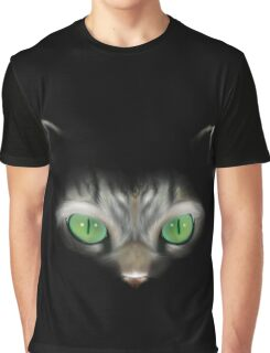 Cat in the dark Graphic T-Shirt