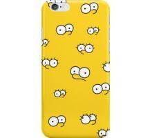 Simpsons eyes iPhone Case/Skin