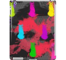 Totally 80's Spatter Painting iPad Case/Skin