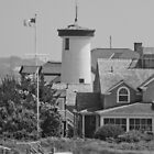 Lighthouse House on Cape Cod by Brent Fennell