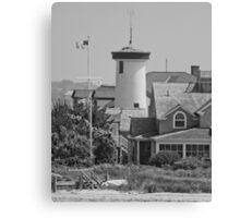 Lighthouse House on Cape Cod Canvas Print