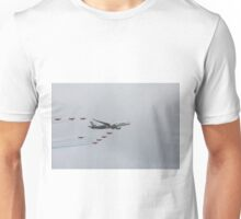 Airbus A350 900 with Red Arrows  Unisex T-Shirt