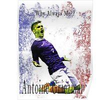 GRIEZMANN EURO 2016 France Poster