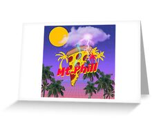 Mt.Phill Palm Trees 1 Greeting Card