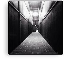 Long Dark Hallways Canvas Print