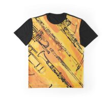 Horns and winds in yellows and golds Graphic T-Shirt