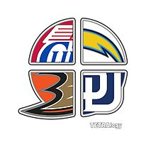 Los Angeles Pro Sports TETRAlogy!: Anaheim Ducks, Padres, Chargers and Clippers by SplitDecision