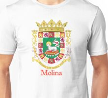 Molina Shield of Puerto Rico Unisex T-Shirt