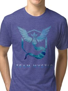 Pokemon Go - Team Mystic Tri-blend T-Shirt