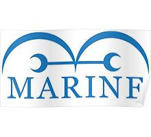 The Marine Sea Force Poster