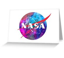Out of this world Nasa Logo Greeting Card