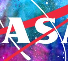 Out of this world Nasa Logo Sticker