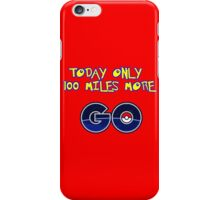go america iPhone Case/Skin
