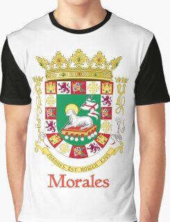 Morales Shield of Puerto Rico Graphic T-Shirt
