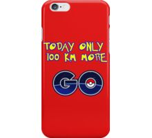 go world iPhone Case/Skin